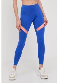 Niebieskie legginsy Reebok