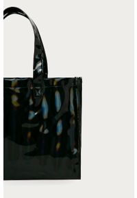 Czarna shopperka adidas Originals na ramię, duża