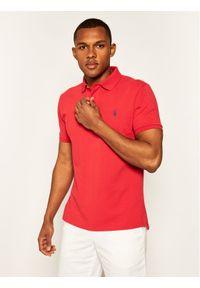 Czerwona koszulka polo Polo Ralph Lauren polo