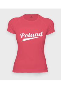 MegaKoszulki - Koszulka damska sportowa Poland. Materiał: poliester #1