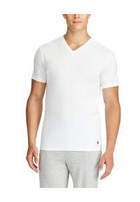 Ralph Lauren - RALPH LAUREN - T-Shirt 2-Pack. Typ kołnierza: polo. Kolor: biały. Materiał: bawełna, prążkowany. Wzór: haft. Styl: klasyczny