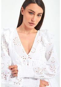 Sukienka TwinSet z długim rękawem, w kwiaty