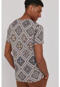 medicine - Medicine - T-shirt Modern Africa. Kolor: brązowy. Materiał: bawełna, dzianina