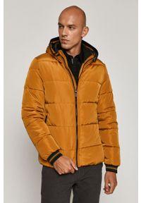 Pomarańczowa kurtka medicine casualowa, z kapturem