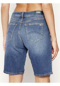 Niebieskie szorty jeansowe Tommy Jeans