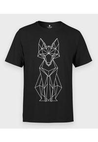 MegaKoszulki - Koszulka męska Geometryczny Lis. Materiał: bawełna. Wzór: geometria