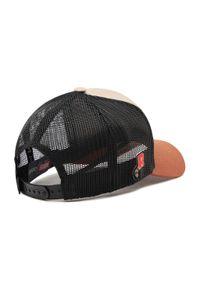 Brązowa czapka z daszkiem CapsLab z motywem z bajki