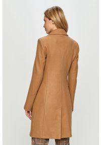 Brązowy płaszcz Liu Jo klasyczny, bez kaptura #6