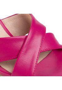 Różowe sandały Oleksy