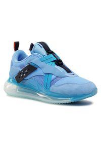 Niebieskie półbuty Nike casualowe, na co dzień