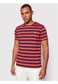 Polo Ralph Lauren T-Shirt Classics 710823560002 Kolorowy Custom Slim Fit. Typ kołnierza: polo. Wzór: kolorowy