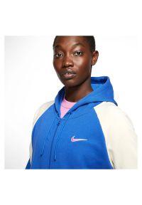 Bluza damska z kapturem Nike Sportswear FZ Hoodie CK1405. Typ kołnierza: kaptur. Materiał: dzianina