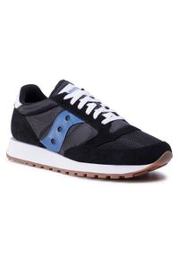 Czarne sneakersy Saucony z cholewką