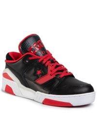 Czarne buty sportowe Converse na co dzień, z cholewką