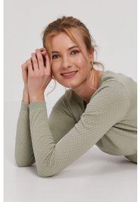 Vero Moda - Sweter. Kolor: zielony