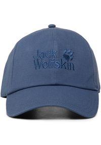 Jack Wolfskin - Czapka z daszkiem JACK WOLFSKIN - Baseball Cap 1900671 Ocean Wave. Kolor: niebieski. Materiał: materiał, bawełna