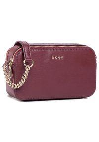 Czerwona torebka DKNY