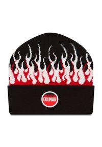 Colmar - Czapka COLMAR - 5030 5VN Black/White/Red 99. Kolor: czarny. Materiał: materiał, akryl