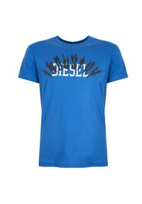 """Diesel T-shirt """"T-Diego-A10"""". Okazja: na co dzień. Materiał: bawełna. Wzór: nadruk. Styl: casual"""