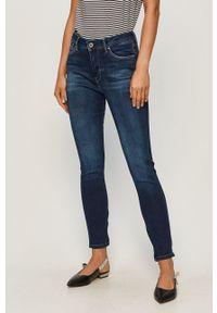Pepe Jeans - Jeansy Cher High. Kolor: niebieski