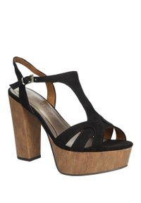 Marco Tozzi - sandały marco tozzi 2-28365-36. Okazja: na co dzień. Kolor: czarny. Materiał: skóra ekologiczna, materiał. Sezon: lato. Styl: casual