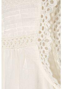 Biała bluzka Kids Only na co dzień, casualowa, krótka #3