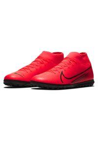 Buty piłkarskie turfy Nike Mercurial Superfly 7 Club TF AT7980. Materiał: skóra, guma, syntetyk. Szerokość cholewki: normalna. Sport: piłka nożna
