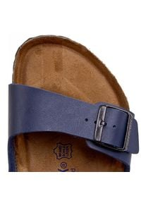 Birkenstock - Klapki BIRKENSTOCK - Arizona 051061 Blau. Kolor: niebieski. Materiał: materiał, skóra ekologiczna. Styl: klasyczny #5