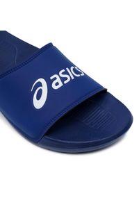 Niebieskie klapki na basen Asics