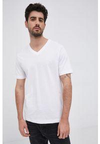 s.Oliver - T-shirt bawełniany. Okazja: na co dzień. Kolor: biały. Materiał: bawełna. Wzór: gładki. Styl: casual