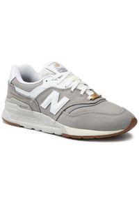 New Balance - Sneakersy NEW BALANCE - CM997HHR Szary. Okazja: na co dzień. Kolor: szary. Materiał: skóra, materiał. Szerokość cholewki: normalna. Styl: sportowy, casual