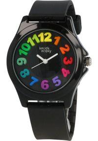 Czarny zegarek Knock Nocky
