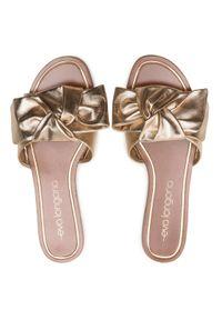 Złote klapki Eva Longoria