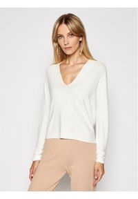 Kontatto Sweter 3M7222 Beżowy Regular Fit. Kolor: beżowy