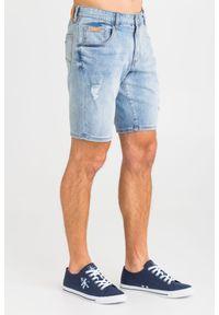 SPODENKI JEANSOWE Armani Exchange. Materiał: jeans