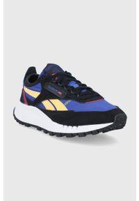 Reebok Classic - Buty CL Legacy. Nosek buta: okrągły. Zapięcie: sznurówki. Kolor: czarny. Materiał: materiał. Szerokość cholewki: normalna. Obcas: na platformie. Model: Reebok Classic