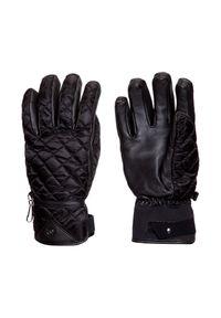 Czarna rękawiczka sportowa Bogner Primaloft, narciarska, na zimę