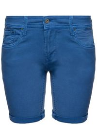 Niebieskie szorty jeansowe Pepe Jeans