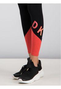 Czarne legginsy sportowe DKNY Sport