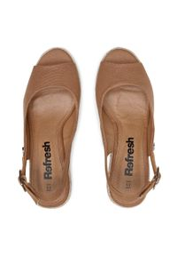 Brązowe sandały Refresh