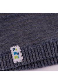 Wiosenna czapka chłopięca PaMaMi - Jeansowy. Materiał: bawełna, elastan. Sezon: wiosna
