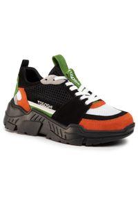 Togoshi - Sneakersy TOGOSHI - TG-07-04-000190 618. Okazja: na co dzień. Kolor: czarny. Materiał: skóra, zamsz, materiał. Sezon: lato. Styl: elegancki, sportowy, casual