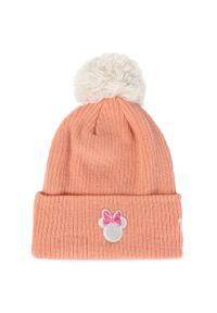 Różowa czapka zimowa New Era z motywem z bajki