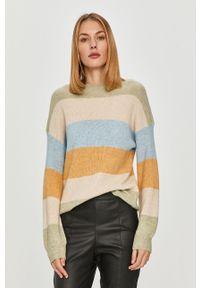 Zielony sweter only długi, na co dzień