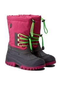 CMP Śniegowce Kids Ahto Wp 3Q49574K Różowy. Kolor: różowy