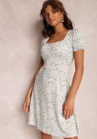 Renee - Jasnoniebieska Sukienka Amaell. Kolor: niebieski