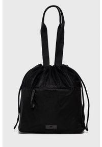 4f - 4F - Torebka. Kolor: czarny. Rodzaj torebki: na ramię