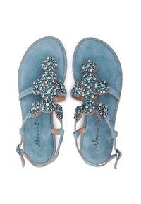 Zielone sandały Alma En Pena