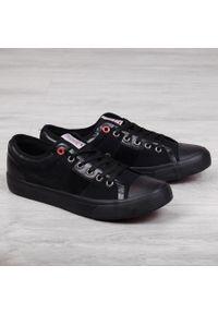 Czarne tenisówki Cross Jeans