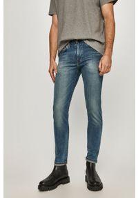 Levi's® - Levi's - Jeansy Skinny Tapered Fit. Okazja: na spotkanie biznesowe. Kolor: niebieski. Styl: biznesowy